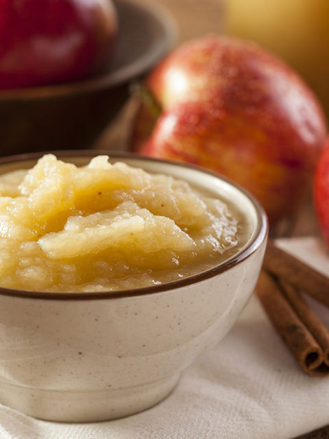 Baking with Applesauce by The Diabetic Pastry Chef