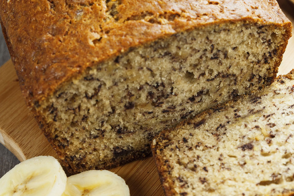 Sugar Free Banana Bread recipe by The Diabetic Pastry Chef