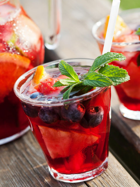Sugar-Free Sangria Recipe by The Diabetic Pastry Chef