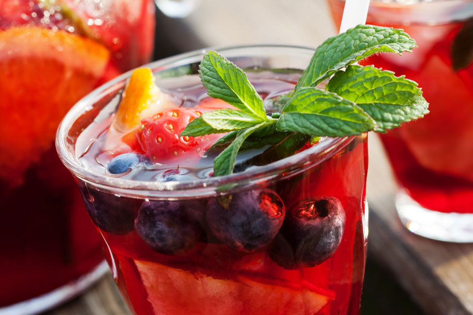 Sugar Free Sangria Recipe by The Diabetic Pastry Chef