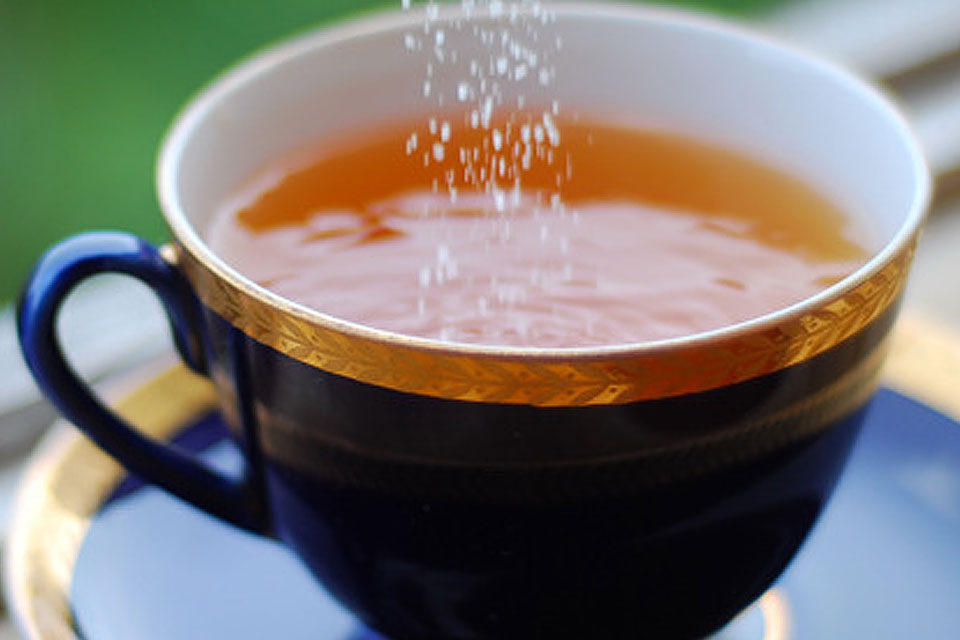Sugar Free Iced Tea Recipe by The Diabetic Pastry Chef