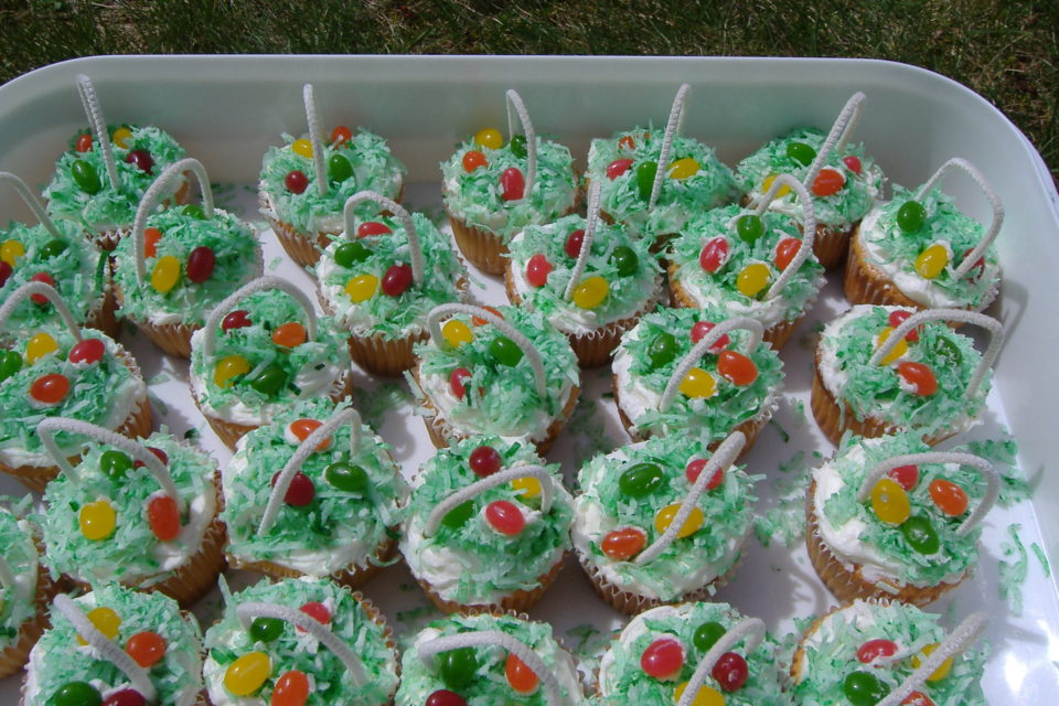 Sugar Free Easter Cupcakes Recipe by The Diabetic Pastry Chef™