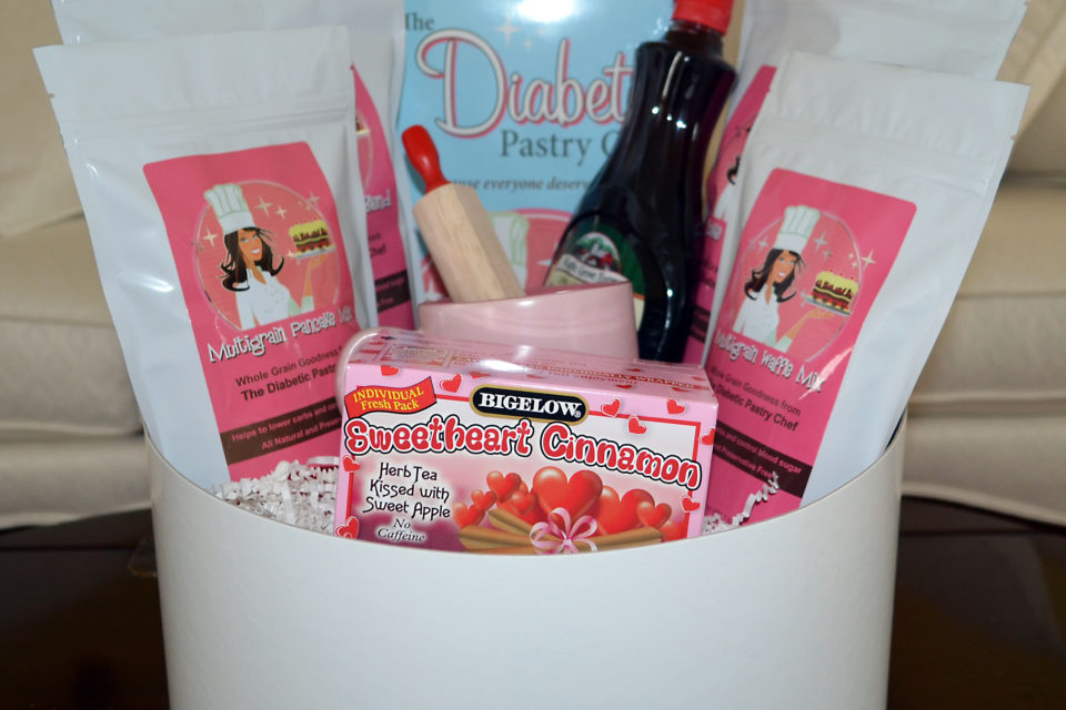 Sugar Free Gift Basket by The Diabetic Pastry Chef™