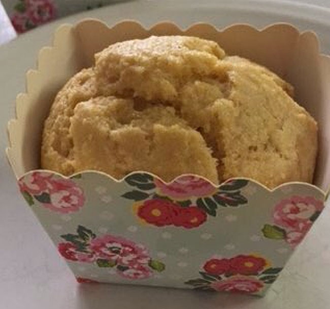 Sugar Free Corn Muffins Recipe by The Diabetic Pastry Chef