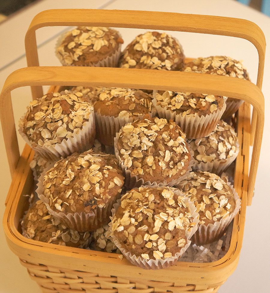 Apple Oatmeal Muffins - The Diabetic Pastry Chef