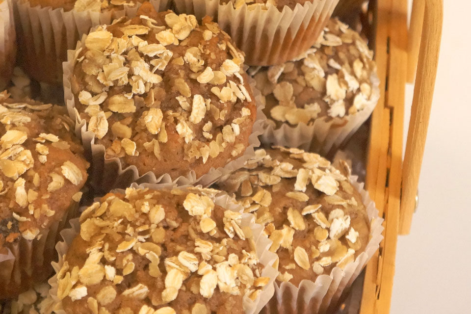 Sugar Free Muffins Recipe: Oatmeal Apple | The Diabetic Pastry Chef