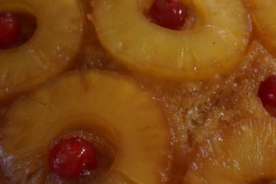 Sugar Free Pineapple Upside Down Cake by The Diabetic Pastry Chef