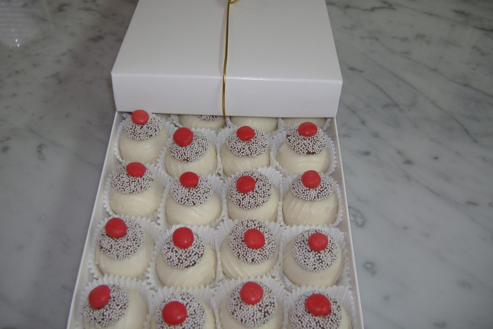 Sugar-Free Cake Truffles by The Diabetic Pastry Chef