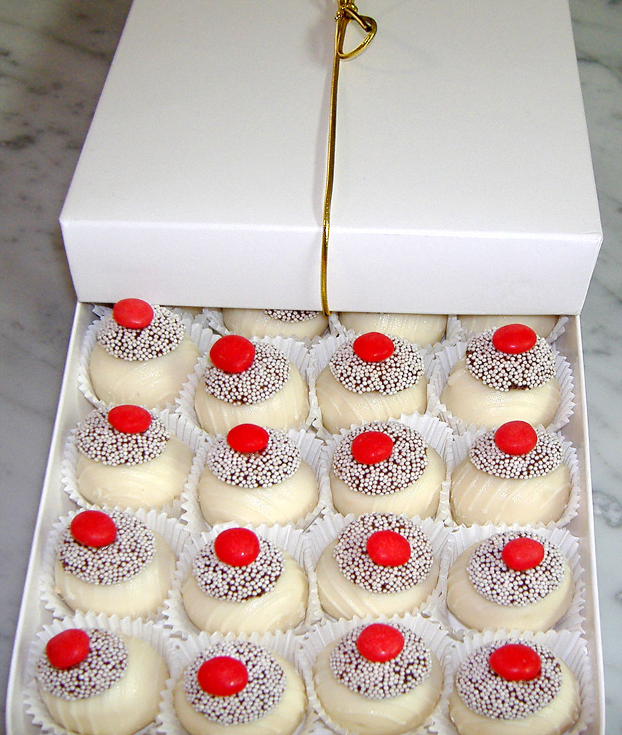 Sugar Free Cake Truffles by The Diabetic Pastry Chef