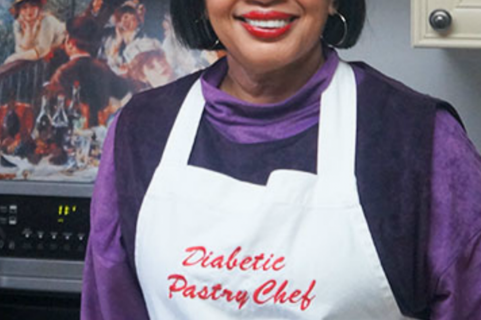 Stacey Harris - Author of The Diabetic Pastry Chef Cookbook