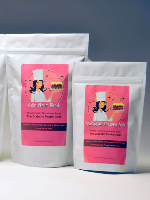 Healthy Flours & Baking Mixes by The Diabetic Pastry Chef™