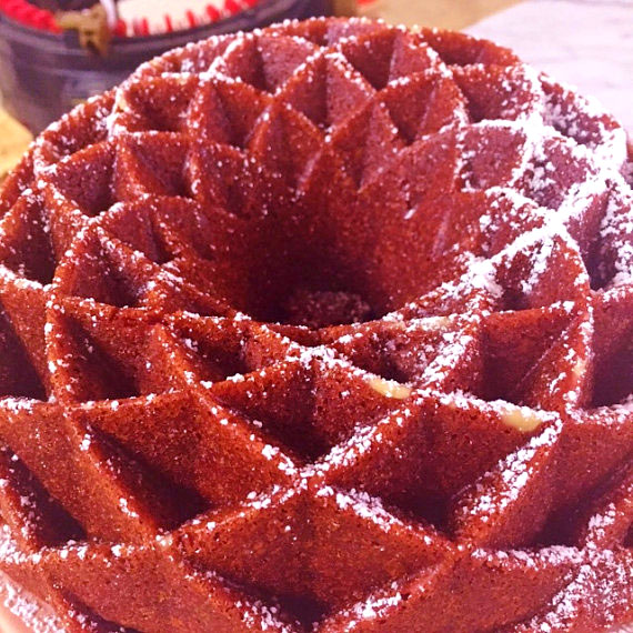 Sugar Free Red Velvet Cake Recipe by The Diabetic Pastry Chef