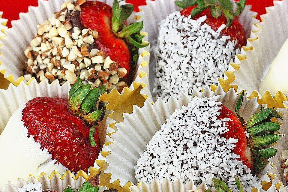 Sugar Free Chocolate Covered Strawberries   The Diabetic Pastry Chef