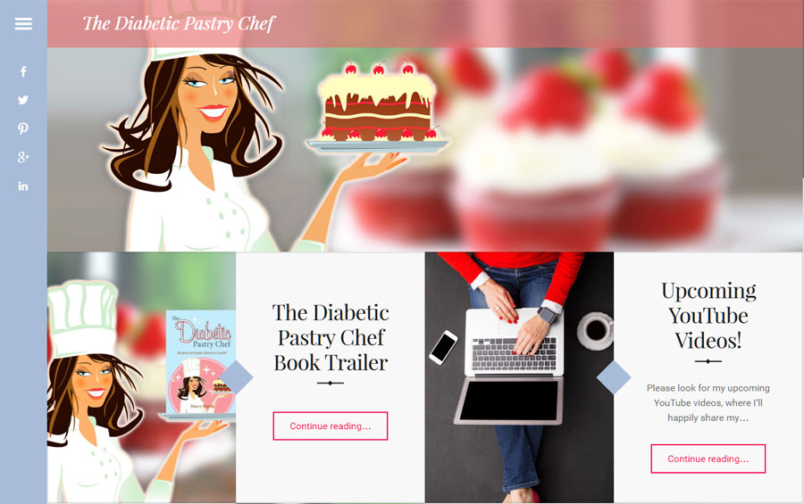New Diabetic Pastry Chef Blog