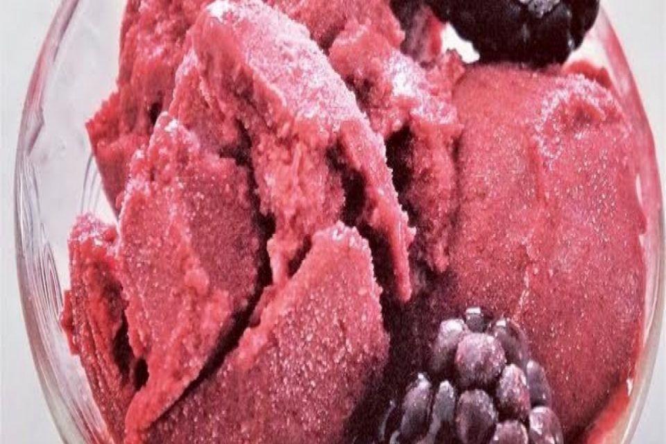 Sugar Free Raspberry Ice Cream Recipe by The Diabetic Pastry Chef™