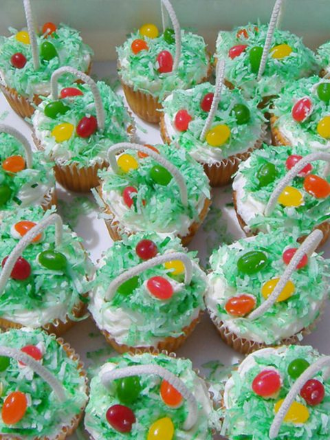 Sugar Free Easter Cupcakes Recipe by The Diabetic Pastry Chef