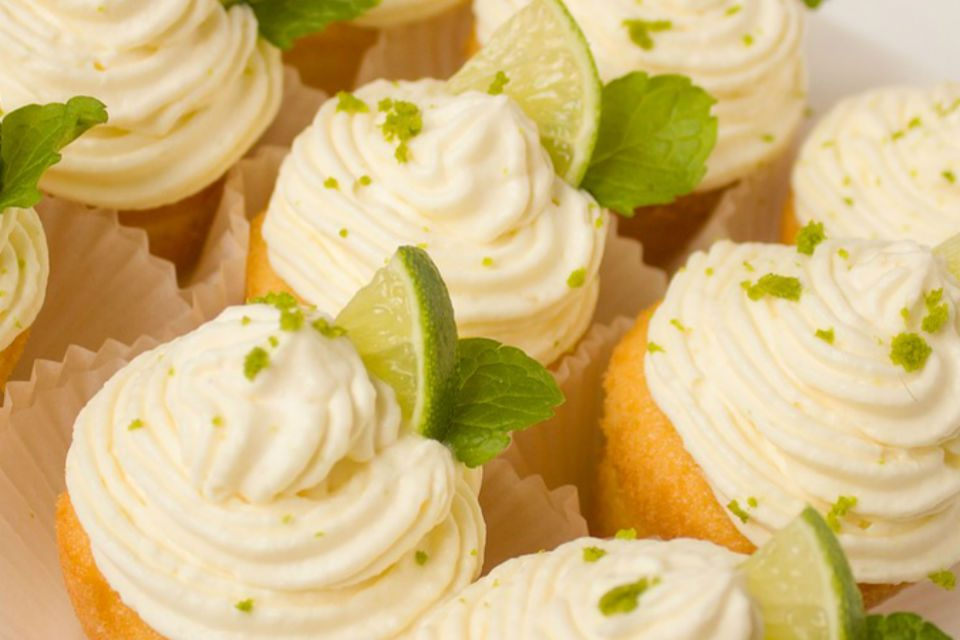 Sugar Free Key Lime Cupcakes Recipe by The Diabetic Pastry Chef