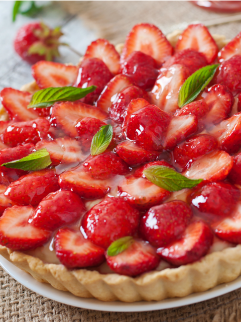 Sugar Free Strawberry Tart Recipe by The Diabetic Pastry Chef™