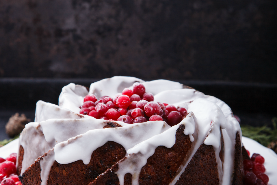 Christmas Pound Cake Recipe by The Diabetic Pastry Chef